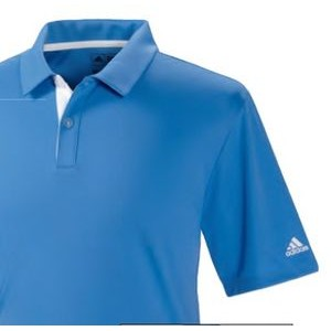 Adidas Men's SS Climacool 3 Stripe Modern Polo Shirt
